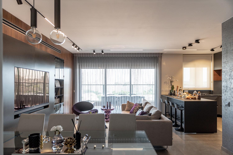 עיצוב דירה / דירה מעוצבת / עיצוב פנים / מיכל שיין / עיצוב וסגנון